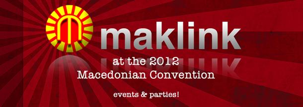 MakLink at the 2012 Macedonian Convention